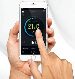 Termostate controlate cu smartphone-ul