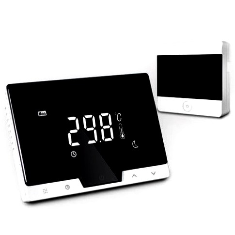 Termostat ambiental pentru centrala, cu control prin internet si touchscreen, Division Gas DG19 WI-FI