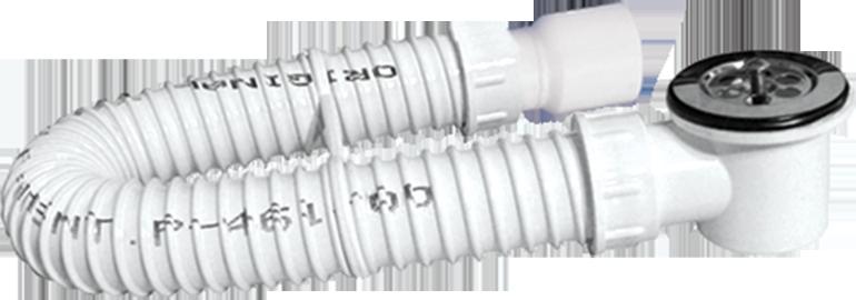 """Sifon flexibil cu ventil pentru cadita 1.1/2"""""""