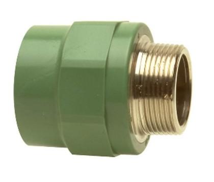 "Adaptor Ø32-1"" filet exterior PPR verde"
