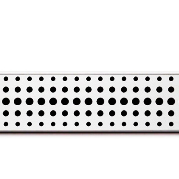Rigola de dus cu montaj la perete si cu gratar Basic mat de 650x60mm