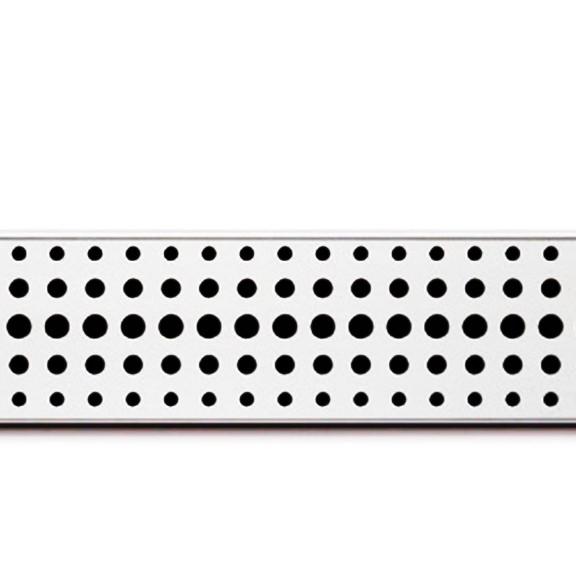 Rigola de dus cu montaj la perete si cu gratar Basic mat de 750x60mm