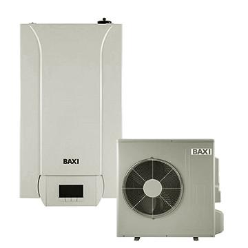 Pompa de caldura aer-apa, 14,65/14,46 kW, 400V, cu rezistente electrice integrate, montaj pe perete, Baxi PBS-i 16 TR E WH2