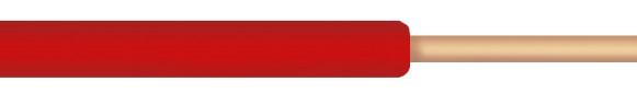Conductor monofilar FY 2,5 mmp rosu la colac de 100 m