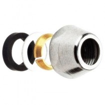 "Adaptor robinet pentru teava de Ø10 mm x 3/8"" filet interior"
