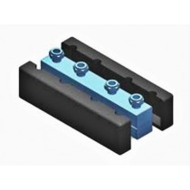 Distribuitor - colector 4 mc/h - 93,4 kW cu 4 circuite Fome +  izolatie si consola
