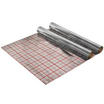 Folie cu aluminiu pentru incalzire in pardoseala 100 mp  /  2 role