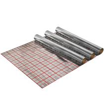Folie cu aluminiu pentru incalzire in pardoseala 150 mp  /  3 role