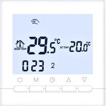 Termostat ambiental incalzire/racire, programabil, cu baterii, Daver DVR.02B05BW