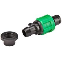 Conector de start  cu garnitura pentru banda picurare  Ø17 mm - 50 buc