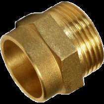 "Adaptor alama 15 mm - 3/8"" filet exterior"