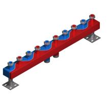 Distribuitor - colector cu 5 circuite  6,5 mc/h - 150kW HydroFixx + izolatie