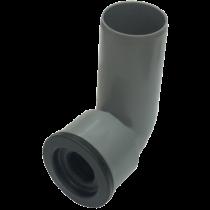 Curba tehnica PP Ø40- Ø46 pentru racordare obiecte sanitare