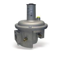 """Regulator compact de gaz cu filtru, DN50, reglare 10...35mbar, 2"""", intrare 1 bar, cu 2 stuturi de masura"""