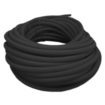 Tub gofrat (copex) Ø25 mm la colac de 50 m