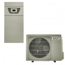 Pompa de caldura aer-apa, 7,90/7,90 kW, 230V, cu rezistente electrice integrate, montaj pe pardoseala, Baxi PBS-i 8 MR E FS2