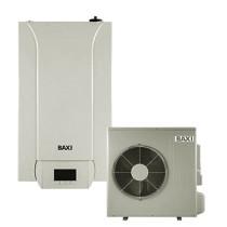 Pompa de caldura aer-apa, 11,39/11,16 kW, 230V, cu rezistente electrice integrate, montaj pe perete, Baxi PBS-i11 MR E WH2