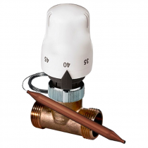 "Kit termostatic de protectie la supratemperatura, 3/4"", Daver"