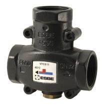 """Ventil termic de amestec ESBE, DN32, seria VTC510, 1.1/4"""", 60°C, kvs 14, pentru cazane cu combustibil solid de max. 130kW"""