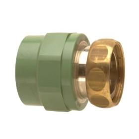 """Adaptor cu semiolandez Ø25-3/4"""" PPR verde"""