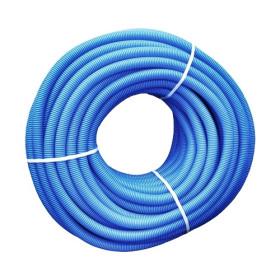 Tub flexibil gofrat albastru Ø40 mm la colac de 25 m
