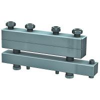 Distribuitor - colector cu separator hidraulic integrat cu 3 circuite  4,5 mc/h - 104,67 kW Fome + izolatie si consola