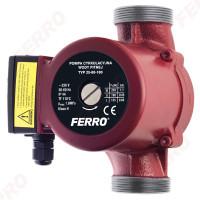 Pompa de circulatie cu 3 viteze, max. 10,5 mc/h, Ferro 25-8-180