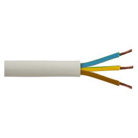 Cablu electric multifilar MYYM 3 x 2,5 mmp la colac de 100 m