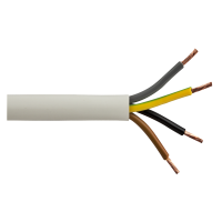Cablu electric multifilar MYYM 4 x 1,5 mmp la colac de 100 m