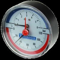 """Termomanometru 0-6 bari, 0-120 °C, 1/2"""""""