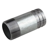 "Stut zincat 50 mm - 1/2"" filet exterior"