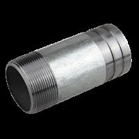 "Stut zincat 100 mm - 1"" filet exterior"