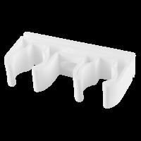 Clema PPR alb dubla Ø25 mm