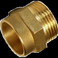 "Adaptor alama Ø15 mm - 3/4"" filet exterior"