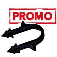Brida tacker pentru fixare teava pardoseala, pachet promotional de 900 buc.