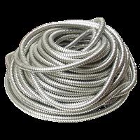 Tub gofrat metalic Ø26 mm la colac de 25 m