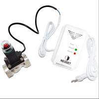 "Set detector de gaz NeoDet cu alimentare 220V/50Hz, comanda 9-12V  si electrovalva gaz 1/2"""